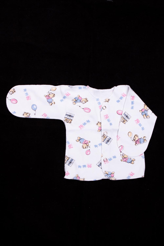 ЦарапкаРаспашонки<br>Хлопковая царапка для новорожденного.  В изделии использованы цвета: белый и др.  Размер соответствует росту ребенка<br><br>По сезону: Всесезон<br>Размер : 50,56<br>Материал: Трикотаж<br>Количество в наличии: 3