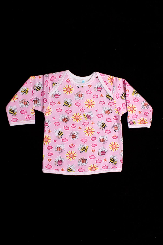 КофточкаКофточки<br>Хлопковая кофточка для ребенка  Цвет: розовый, мультицвет  Размер соответствует росту ребенка<br><br>По длине: Удлиненные<br>По материалу: Трикотажные,Хлопковые<br>По образу: Повседневные<br>По рисунку: С принтом (печатью),Цветные<br>По сезону: Весна,Зима,Лето,Осень,Всесезон<br>По силуэту: Полуприталенные<br>Рукав: Длинный рукав<br>По возрасту: Ясельные ( от 1 до 3 лет)<br>Размер : 74<br>Материал: Хлопок<br>Количество в наличии: 1