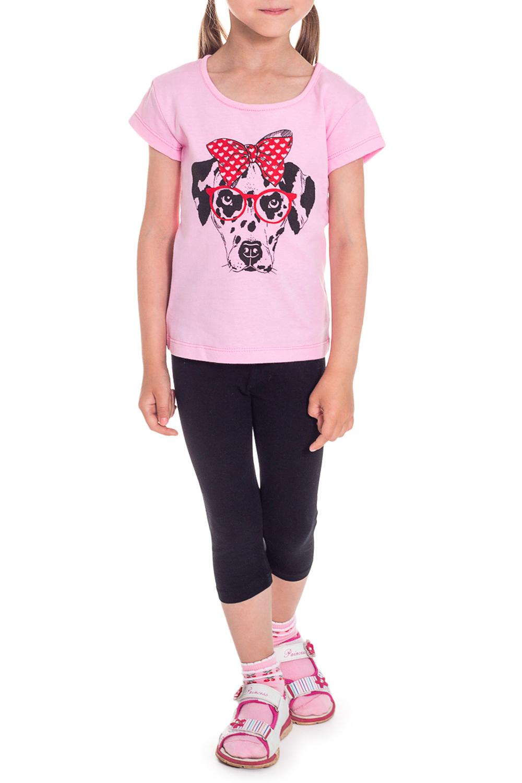 ФутболкаФутболки<br>Хлопковая футболка для девочки  Размер 92 соответствует росту 87-92 см Размер 98 соответствует росту 93-98 см  Цвет: розовый<br><br>Горловина: С- горловина<br>По длине: Удлиненные<br>По материалу: Трикотажные,Хлопковые<br>По образу: Повседневные<br>По рисунку: Однотонные,С принтом (печатью)<br>По сезону: Лето<br>По силуэту: Полуприталенные<br>Рукав: Короткий рукав<br>По возрасту: Ясельные ( от 1 до 3 лет)<br>Размер : 92,98<br>Материал: Хлопок<br>Количество в наличии: 4