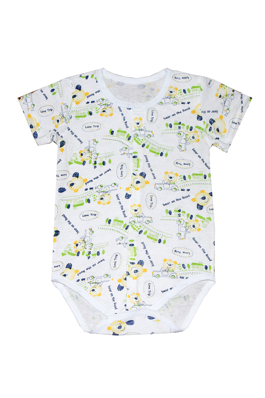 БодиКофточки<br>Хлопковое боди для новорожденного  В изделии использованы цвета: белый, мультицвет  Размер соответствует росту ребенка.<br><br>По сезону: Всесезон<br>Размер : 62,68,74<br>Материал: Хлопок<br>Количество в наличии: 3