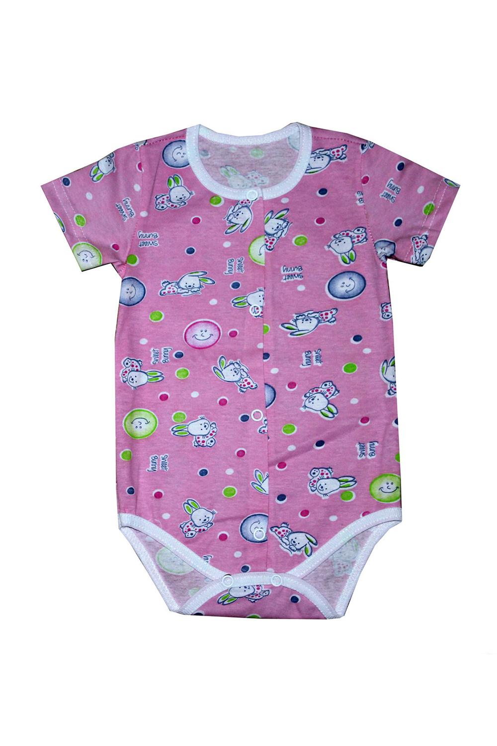 БодиКофточки<br>Хлопковое боди для новорожденного  В изделии использованы цвета: темно-розовый, мультицвет  Размер соответствует росту ребенка.<br><br>По сезону: Всесезон<br>Размер : 62,74<br>Материал: Хлопок<br>Количество в наличии: 4