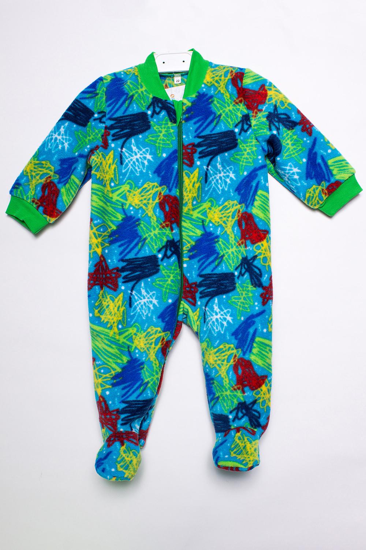 КомбинезонКомбинезончики<br>Цветной флисовый комбинезон для новорожденного.  В изделии использованы цвета: голубой и др.  Размер соответствует росту ребенка.<br><br>По сезону: Всесезон<br>Размер : 68<br>Материал: Флис<br>Количество в наличии: 1