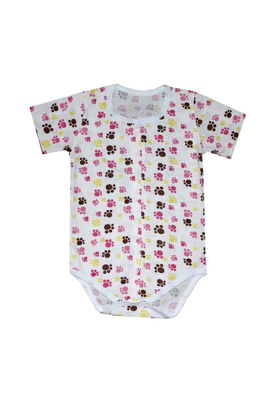 БодиКофточки<br>Хлопковое боди для новорожденного  В изделии использованы цвета: белый, мультицвет  Размер соответствует росту ребенка.<br><br>По сезону: Всесезон<br>Размер : 62,68<br>Материал: Хлопок<br>Количество в наличии: 2