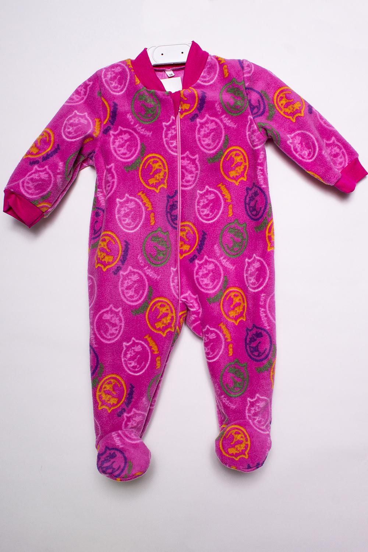 КомбинезонКомбинезончики<br>Цветной флисовый комбинезон для новорожденного.  В изделии использованы цвета: малиновый и др.  Размер соответствует росту ребенка.<br><br>По сезону: Всесезон<br>Размер : 68<br>Материал: Флис<br>Количество в наличии: 1