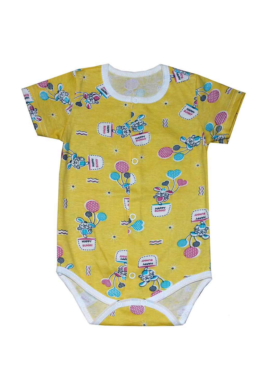 БодиКофточки<br>Хлопковое боди для новорожденного  В изделии использованы цвета: желтый, мультицвет  Размер соответствует росту ребенка.<br><br>По сезону: Всесезон<br>Размер : 62,68,74<br>Материал: Хлопок<br>Количество в наличии: 3