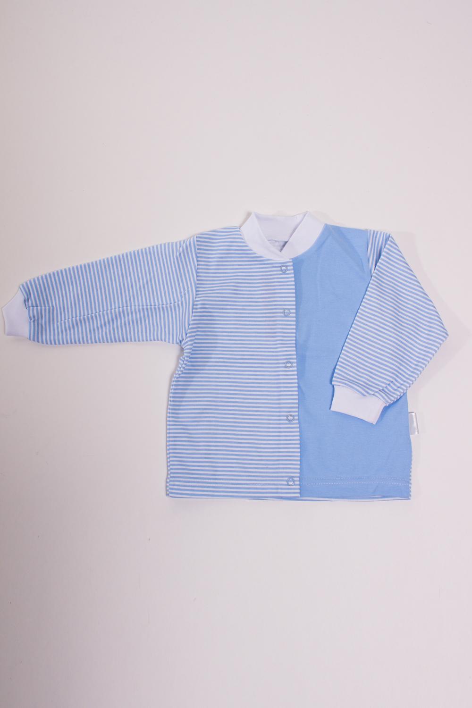 КофточкаКофточки<br>Хлопковая кофточка для новорожденного  Цвет: голубой, белый  Размер соответствует росту ребенка<br><br>Размер : 80,86<br>Материал: Хлопок<br>Количество в наличии: 8