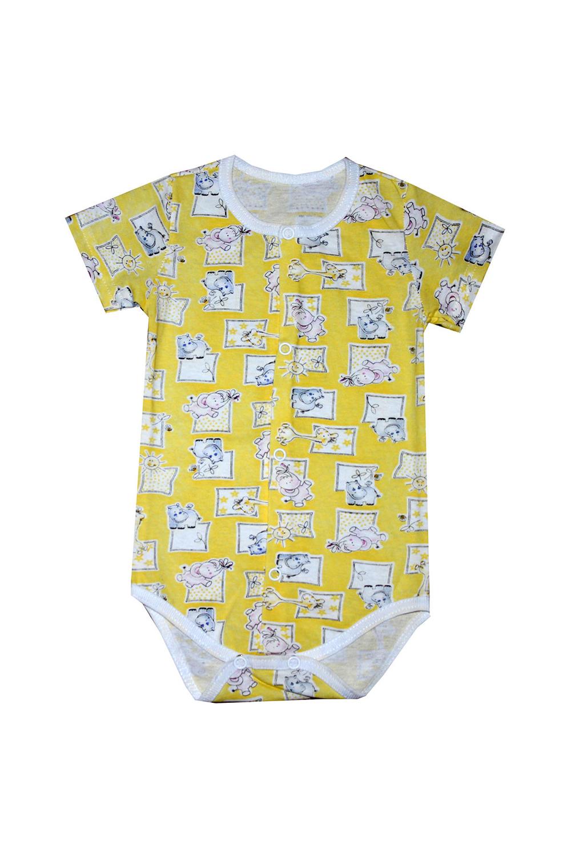 БодиКофточки<br>Хлопковое боди для новорожденного  В изделии использованы цвета: желтый, белый  Размер соответствует росту ребенка.<br><br>По сезону: Всесезон<br>Размер : 62,68,74<br>Материал: Хлопок<br>Количество в наличии: 3