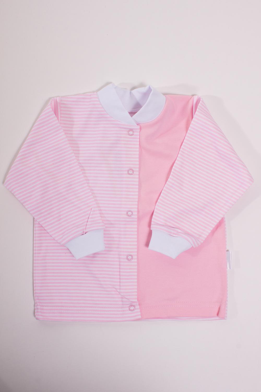 КофточкаКофточки<br>Хлопковая кофточка для новорожденного  Цвет: белый, розовый  Размер соответствует росту ребенка<br><br>Размер : 80,86<br>Материал: Хлопок<br>Количество в наличии: 7
