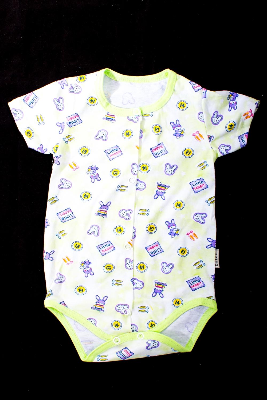 БодиКофточки<br>Хлопковое боди для новорожденного  В изделии использованы цвета: салатовый и др.  Размер соответствует росту ребенка.<br><br>По сезону: Всесезон<br>Размер : 62,68,74<br>Материал: Хлопок<br>Количество в наличии: 3