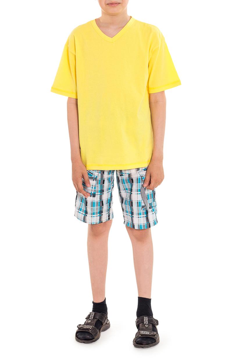 ФутболкаФутболки<br>Хлопковая футболка для мальчика  Цвет: желтый  Размер 74 соответствует росту 70-73 см Размер 80 соответствует росту 74-80 см Размер 86 соответствует росту 81-86 см Размер 92 соответствует росту 87-92 см Размер 98 соответствует росту 93-98 см Размер 104 соответствует росту 98-104 см Размер 110 соответствует росту 105-110 см Размер 116 соответствует росту 111-116 см Размер 122 соответствует росту 117-122 см Размер 128 соответствует росту 123-128 см Размер 134 соответствует росту 129-134 см Размер 140 соответствует росту 135-140 см Размер 146 соответствует росту 141-146 см Размер 152 соответствует росту 147-152 см Размер 158 соответствует росту 153-158 см Размер 164 соответствует росту 159-164 см<br><br>Горловина: V- горловина<br>По возрасту: Школьные ( от 7 до 13 лет)<br>По материалу: Хлопковые<br>По образу: Повседневные<br>По рисунку: Однотонные<br>По сезону: Весна,Зима,Лето,Осень,Всесезон<br>По силуэту: Свободные<br>Рукав: Короткий рукав<br>Размер : 140<br>Материал: Хлопок<br>Количество в наличии: 5