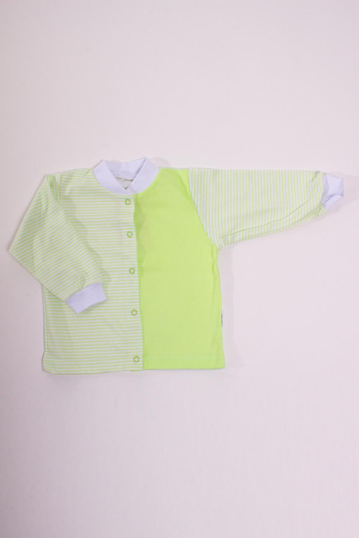 КофточкаКофточки<br>Хлопковая кофточка для новорожденного  Цвет: зеленый, белый  Размер соответствует росту ребенка<br><br>Размер : 68,80,86<br>Материал: Хлопок<br>Количество в наличии: 9