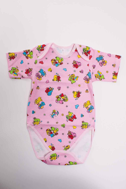 БодиКофточки<br>Хлопковое боди для новорожденного  Цвет: розовый, мультицвет  Размер соответствует росту ребенка<br><br>Размер : 50,68,74,80,86<br>Материал: Трикотаж<br>Количество в наличии: 7