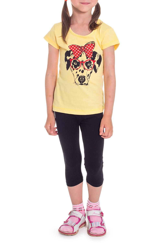 ФутболкаФутболки<br>Хлопковая футболка для девочки  Размер 92 соответствует росту 87-92 см Размер 98 соответствует росту 93-98 см  Цвет: желтый<br><br>Горловина: С- горловина<br>По длине: Удлиненные<br>По материалу: Трикотажные,Хлопковые<br>По образу: Повседневные<br>По рисунку: Однотонные,С принтом (печатью)<br>По сезону: Лето<br>По силуэту: Полуприталенные<br>Рукав: Короткий рукав<br>По возрасту: Ясельные ( от 1 до 3 лет)<br>Размер : 92,98<br>Материал: Хлопок<br>Количество в наличии: 7