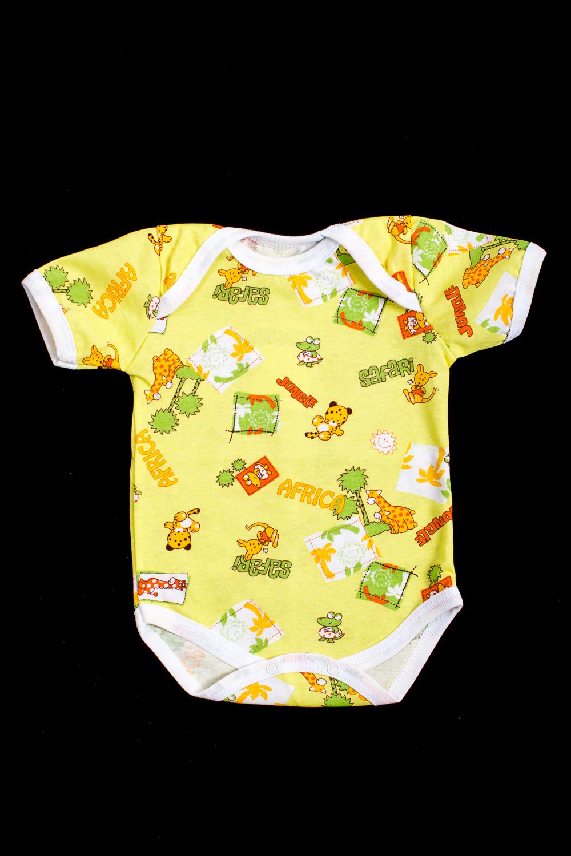 ПолукомбинезонКомбинезончики<br>Чудесный полукомбинезон для новорожденного  В изделии использованы цвета: желтый и др.  Размер соответствует росту ребенка<br><br>По сезону: Всесезон<br>Размер : 68<br>Материал: Хлопок<br>Количество в наличии: 1