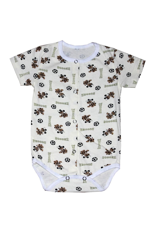 БодиКофточки<br>Хлопковое боди для новорожденного  В изделии использованы цвета: молочный и др.  Размер соответствует росту ребенка.<br><br>По сезону: Всесезон<br>Размер : 62<br>Материал: Хлопок<br>Количество в наличии: 1
