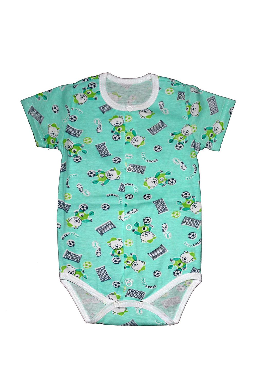 БодиКофточки<br>Хлопковое боди для новорожденного  В изделии использованы цвета: зеленый и др.  Размер соответствует росту ребенка.<br><br>По сезону: Всесезон<br>Размер : 62,68,74<br>Материал: Хлопок<br>Количество в наличии: 3