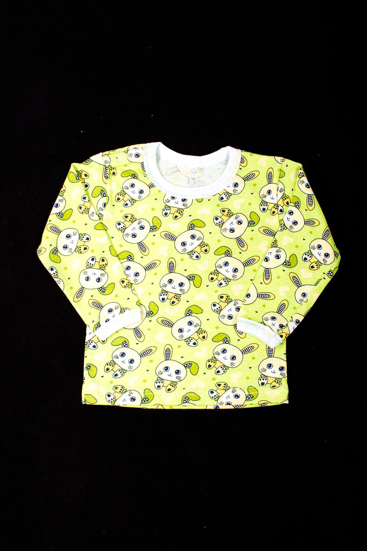 ФутболкаКофточки<br>Хлопковая футболка для новорожденного  В изделии использованы цвета: желтый и др.  Размер соответствует росту ребенка<br><br>Горловина: С- горловина<br>По возрасту: Ясельные ( от 1 до 3 лет)<br>По материалу: Хлопковые<br>По образу: Повседневные<br>По рисунку: С принтом (печатью),Цветные<br>По сезону: Весна,Осень,Всесезон<br>По силуэту: Полуприталенные<br>Рукав: Длинный рукав<br>Размер : 68<br>Материал: Хлопок<br>Количество в наличии: 2