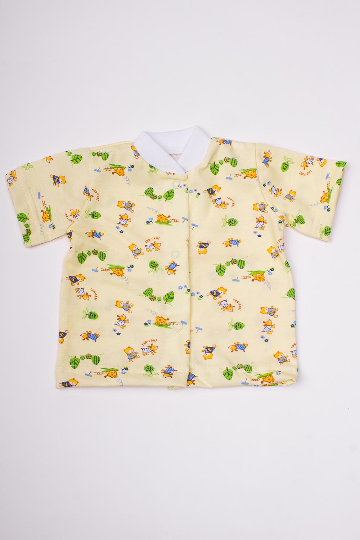 КофточкаКофточки<br>Хлопковая кофточка для новорожденного  В изделии использованы цвета: желтый и др.  Размер соответствует росту ребенка<br><br>По сезону: Всесезон<br>Размер : 68,74,80,86<br>Материал: Хлопок<br>Количество в наличии: 4