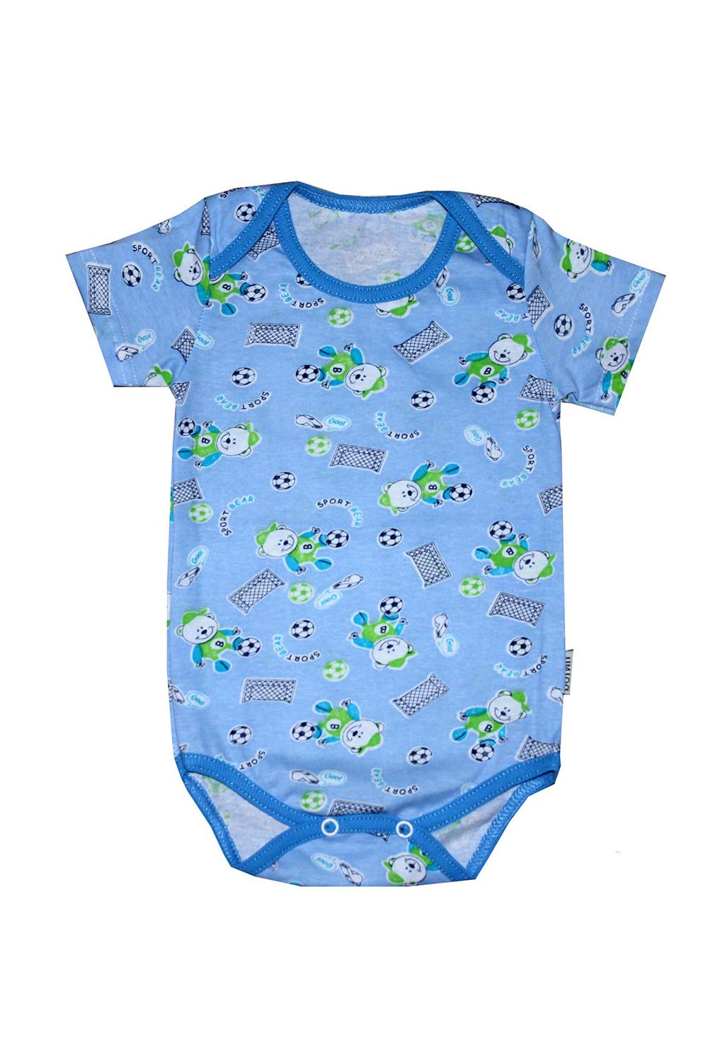 БодиКофточки<br>Хлопковое боди для новорожденного  В изделии использованы цвета: голубой и др.  Размер соответствует росту ребенка.<br><br>По сезону: Всесезон<br>Размер : 68,74<br>Материал: Хлопок<br>Количество в наличии: 2