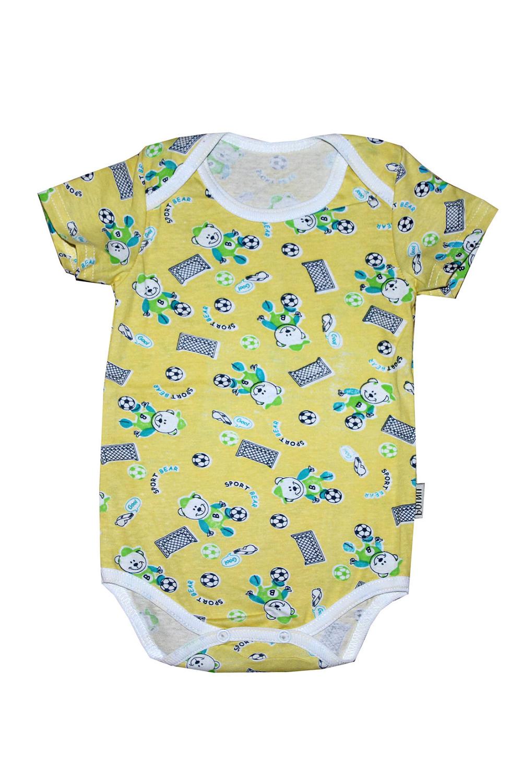 БодиКофточки<br>Хлопковое боди для новорожденного  В изделии использованы цвета: желтый и др.  Размер соответствует росту ребенка.<br><br>По сезону: Всесезон<br>Размер : 62,68,74<br>Материал: Хлопок<br>Количество в наличии: 3