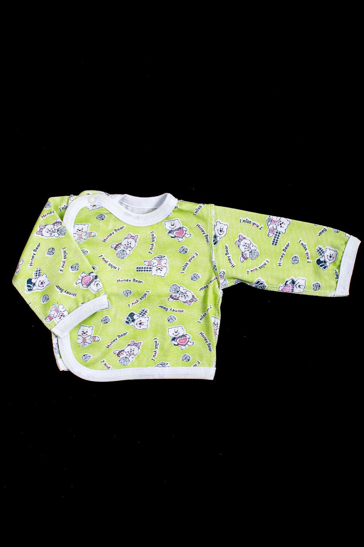 КофточкаКофточки<br>Хлопковая кофточка для новорожденного.  В изделии использованы цвета: зеленый и др.  Размер соответствует росту ребенка<br><br>По сезону: Всесезон<br>Размер : 56,62,68<br>Материал: Хлопок<br>Количество в наличии: 3