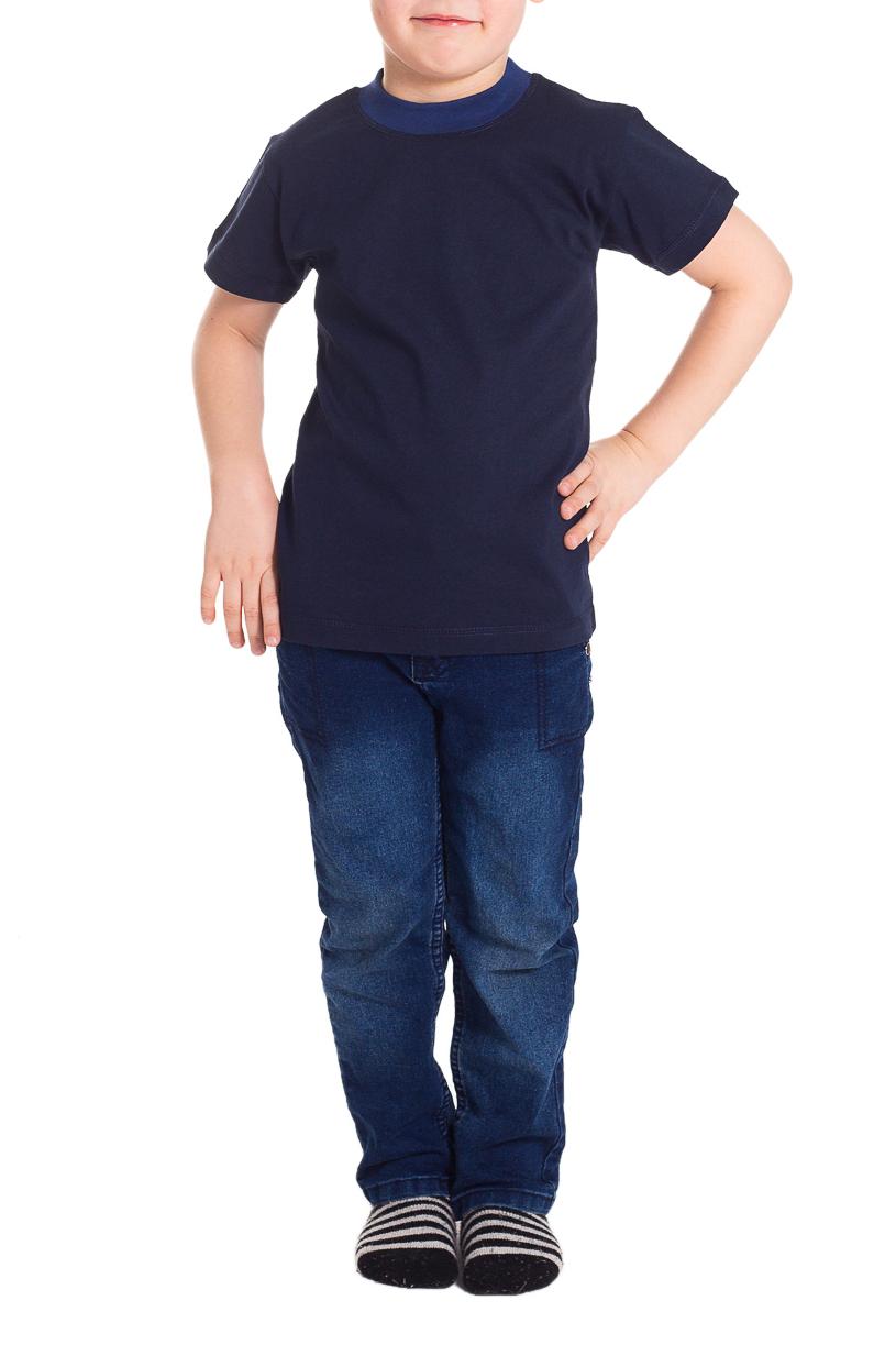 ФутболкаФутболки<br>Хлопковая футболка для мальчика  Цвет: синий  Размер 74 соответствует росту 70-73 см Размер 80 соответствует росту 74-80 см Размер 86 соответствует росту 81-86 см Размер 92 соответствует росту 87-92 см Размер 98 соответствует росту 93-98 см Размер 104 соответствует росту 98-104 см Размер 110 соответствует росту 105-110 см Размер 116 соответствует росту 111-116 см Размер 122 соответствует росту 117-122 см Размер 128 соответствует росту 123-128 см Размер 134 соответствует росту 129-134 см Размер 140 соответствует росту 135-140 см Размер 146 соответствует росту 141-146 см Размер 152 соответствует росту 147-152 см Размер 158 соответствует росту 153-158 см Размер 164 соответствует росту 159-164 см<br><br>Горловина: С- горловина<br>По возрасту: Дошкольные ( от 3 до 7 лет),Ясельные ( от 1 до 3 лет)<br>По материалу: Хлопковые<br>По образу: Повседневные,Спорт,Уличные<br>По рисунку: Однотонные<br>По сезону: Весна,Зима,Лето,Осень,Всесезон<br>По силуэту: Полуприталенные<br>По стилю: Повседневные<br>Рукав: Короткий рукав<br>Размер : 116,98<br>Материал: Хлопок<br>Количество в наличии: 8