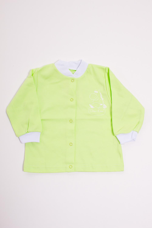 КофточкаКофточки<br>Хлопковая кофточка для новорожденного  Цвет: салатовый, белый  Размер соответствует росту ребенка<br><br>Размер : 80,86<br>Материал: Хлопок<br>Количество в наличии: 5