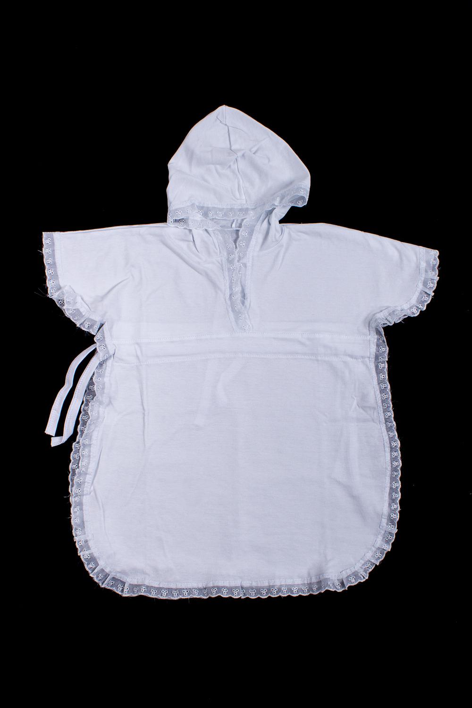 НакидкаКофточки<br>Хлопковая накидка для крещения.  В изделии использованы цвета: белый   Размер соответствует росту ребенка<br><br>Размер : 62,74<br>Материал: Хлопок<br>Количество в наличии: 4