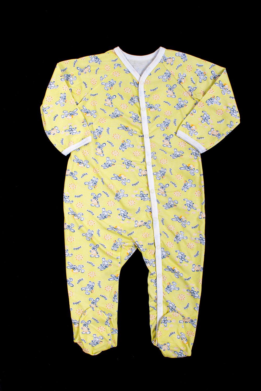 КомбинезонКомбинезончики<br>Хлопковый комбинезон для ребенка  В изделии использованы цвета: желтый и др.  Размер соответствует росту ребенка<br><br>По сезону: Всесезон<br>Размер : 86<br>Материал: Хлопок<br>Количество в наличии: 2
