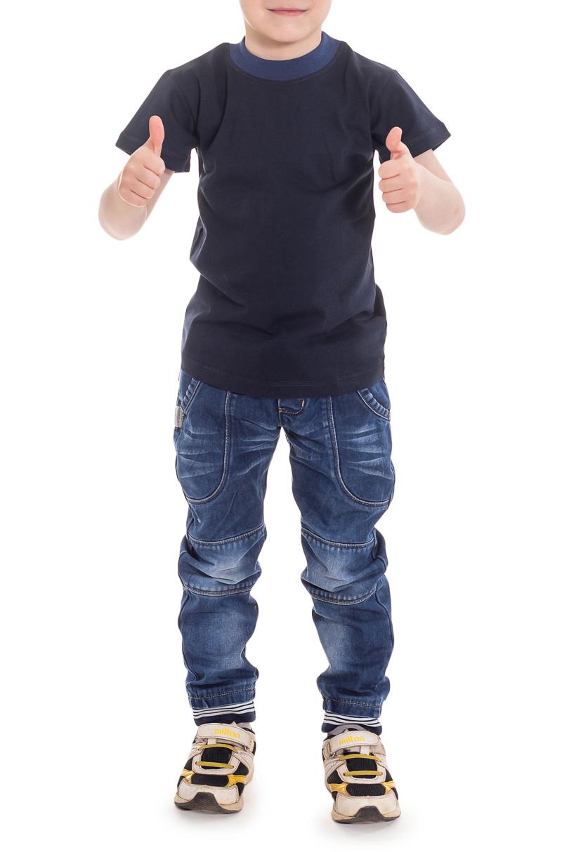 ФутболкаФутболки<br>Классическая детская футболка с округлой горловиной и короткими рукавами.  Цвет: синий.  Размер 74 соответствует росту 70-73 см Размер 80 соответствует росту 74-80 см Размер 86 соответствует росту 81-86 см Размер 92 соответствует росту 87-92 см Размер 98 соответствует росту 93-98 см Размер 104 соответствует росту 98-104 см Размер 110 соответствует росту 105-110 см Размер 116 соответствует росту 111-116 см Размер 122 соответствует росту 117-122 см Размер 128 соответствует росту 123-128 см Размер 134 соответствует росту 129-134 см Размер 140 соответствует росту 135-140 см Размер 146 соответствует росту 141-146 см<br><br>Горловина: С- горловина<br>По длине: Удлиненные<br>По материалу: Трикотажные,Хлопковые<br>По образу: Повседневные,Спорт,Уличные<br>По рисунку: Однотонные<br>По сезону: Весна,Зима,Лето,Осень,Всесезон<br>По стилю: Повседневные,Спортивные<br>По элементам: С декором<br>Рукав: Короткий рукав<br>По возрасту: Ясельные ( от 1 до 3 лет)<br>Размер : 110<br>Материал: Хлопок<br>Количество в наличии: 3