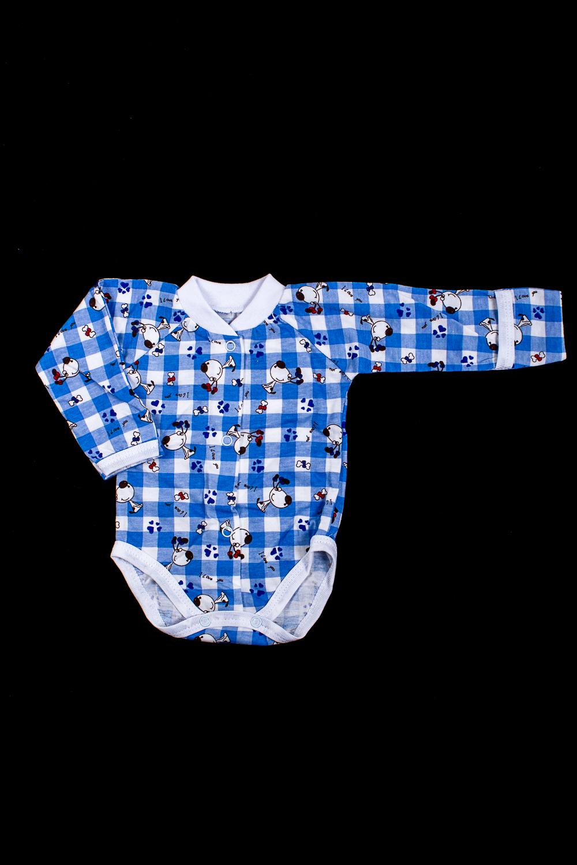 ПолукомбинезонКомбинезончики<br>Хлопковый полукомбинезон для ребенка  В изделии использованы цвета: синий, белый и др.  Размер соответствует росту ребенка<br><br>По сезону: Всесезон<br>Размер : 56<br>Материал: Хлопок<br>Количество в наличии: 1