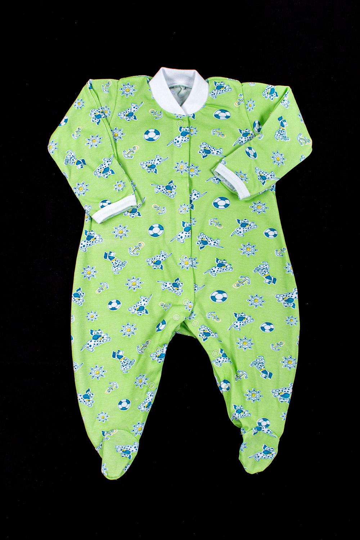 КомбинезонКомбинезончики<br>Хлопковый комбинезон для ребенка  В изделии использованы цвета: зеленый и др.  Размер соответствует росту ребенка<br><br>По сезону: Всесезон<br>Размер : 56,62<br>Материал: Хлопок<br>Количество в наличии: 2