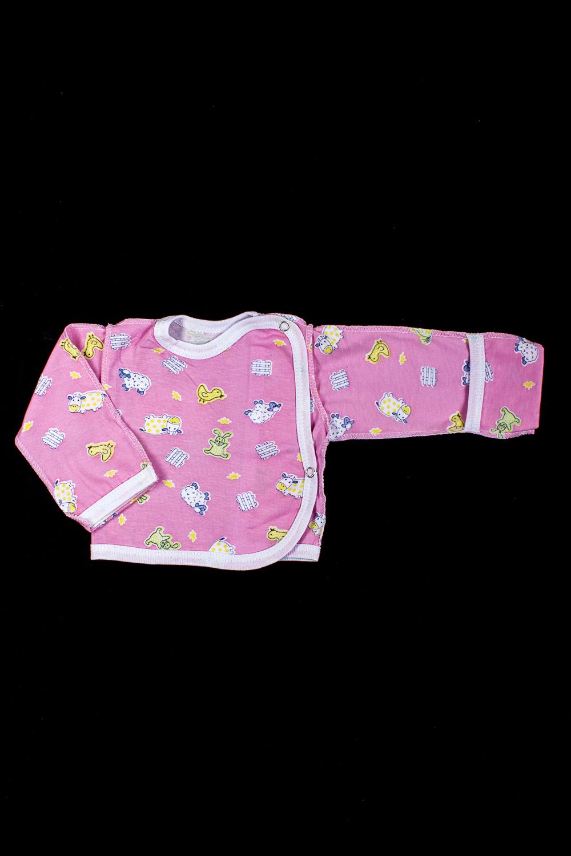 КофточкаКофточки<br>Хлопковая кофточка для новорожденного  В изделии использованы цвета: розовый и др.  Размер соответствует росту ребенка<br><br>По сезону: Всесезон<br>Размер : 56,62<br>Материал: Хлопок<br>Количество в наличии: 2