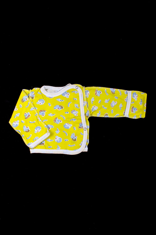 КофточкаКофточки<br>Хлопковая кофточка для новорожденного  В изделии использованы цвета: желтый и др.  Размер соответствует росту ребенка<br><br>По сезону: Всесезон<br>Размер : 56,62<br>Материал: Хлопок<br>Количество в наличии: 2