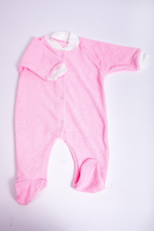 КомбинезонКомбинезончики<br>Хлопковый комбинезон для новорожденного.  В изделии использованы цвета: розовый, белый  Размер соответствует росту ребенка<br><br>По сезону: Всесезон<br>Размер : 68<br>Материал: Махровое полотно<br>Количество в наличии: 1