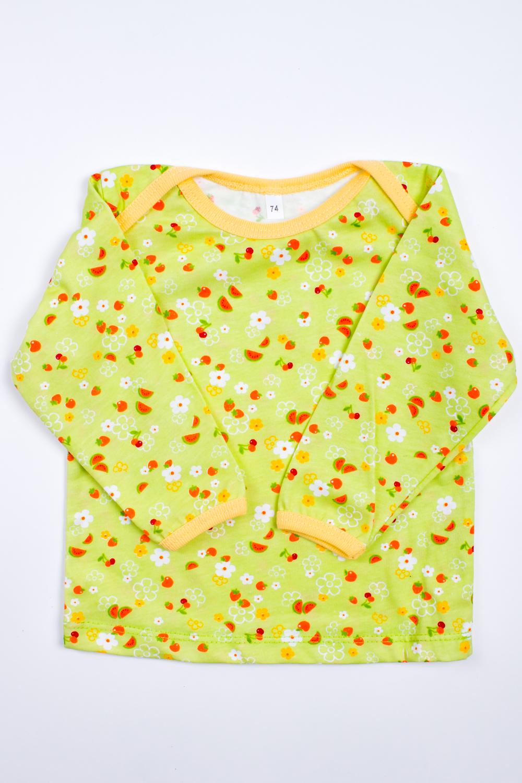 КофточкаКофты<br>Хлопковая кофточка для ребенка  Цвет: салатовый, мультицвет  Размер соответствует росту ребенка<br><br>Горловина: С- горловина<br>По материалу: Трикотажные,Хлопковые<br>По образу: Повседневные<br>По рисунку: С принтом (печатью),Цветные<br>По сезону: Весна,Осень,Всесезон<br>По силуэту: Полуприталенные<br>Рукав: Длинный рукав<br>По возрасту: Ясельные ( от 1 до 3 лет)<br>Размер : 74<br>Материал: Хлопок<br>Количество в наличии: 3