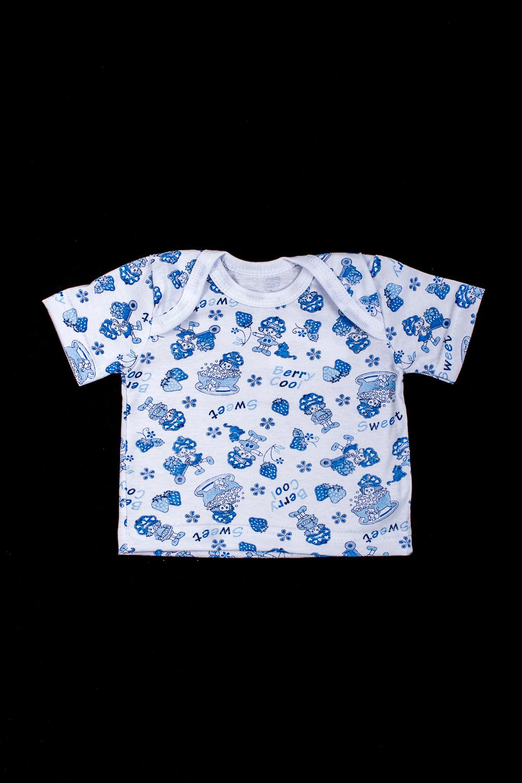 КофточкаКофточки<br>Хлопковая кофточка для новорожденного  В изделии использованы цвета: белый, голубой  Размер соответствует росту ребенка<br><br>По сезону: Всесезон<br>Размер : 62,68,74,80<br>Материал: Хлопок<br>Количество в наличии: 4