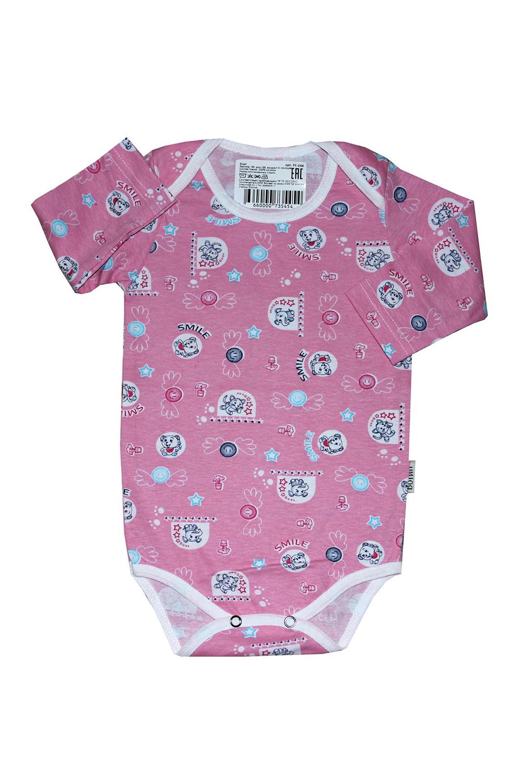 БодиКофточки<br>Хлопковое боди для новорожденного  В изделии использованы цвета: розовый и др.  Размер соответствует росту ребенка.<br><br>По сезону: Всесезон<br>Размер : 68<br>Материал: Хлопок<br>Количество в наличии: 1