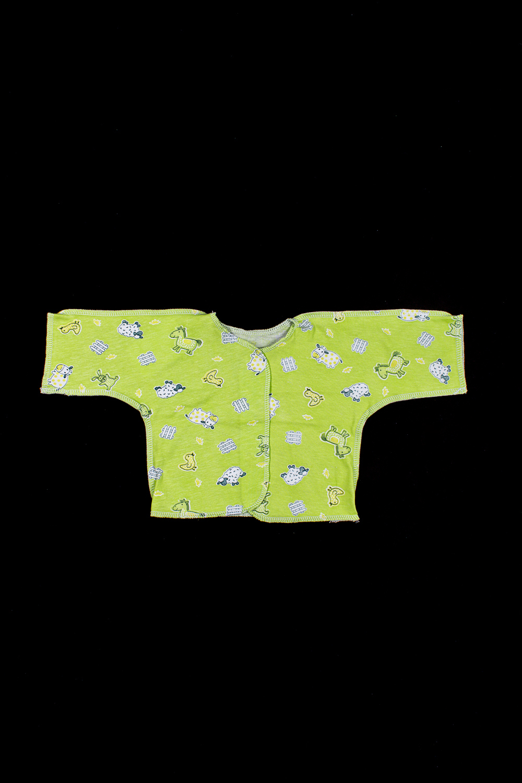 РаспашонкаРаспашонки<br>Хлопковая распашонка для новорожденного  В изделии использованы цвета: зеленый и др.  Размер соответствует росту ребенка<br><br>По сезону: Всесезон<br>Размер : 56,62<br>Материал: Хлопок<br>Количество в наличии: 2