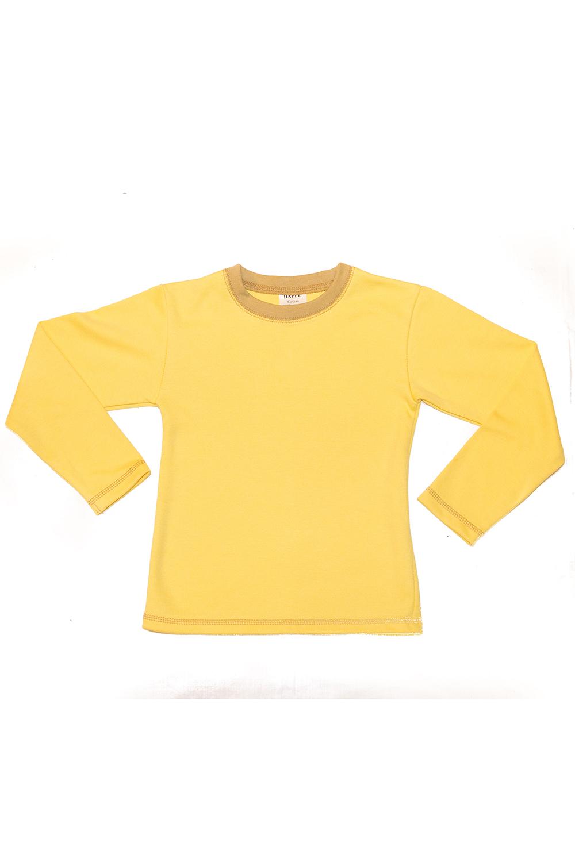 ФутболкаДжемперы<br>Хлопковая футболка с круглой горловиной и длинными рукавами.  В изделии использованы цвета: желтый, горчичный  Размер 74 соответствует росту 70-73 см Размер 80 соответствует росту 74-80 см Размер 86 соответствует росту 81-86 см Размер 92 соответствует росту 87-92 см Размер 98 соответствует росту 93-98 см Размер 104 соответствует росту 98-104 см Размер 110 соответствует росту 105-110 см Размер 116 соответствует росту 111-116 см Размер 122 соответствует росту 117-122 см Размер 128 соответствует росту 123-128 см Размер 134 соответствует росту 129-134 см Размер 140 соответствует росту 135-140 см Размер 146 соответствует росту 141-146 см Размер 152 соответствует росту 147-152 см Размер 158 соответствует росту 153-158 см<br><br>Горловина: С- горловина<br>По возрасту: Ясельные ( от 1 до 3 лет),Дошкольные ( от 3 до 7 лет)<br>По материалу: Трикотаж,Хлопок<br>По образу: Повседневные<br>По рисунку: Цветные<br>По силуэту: Полуприталенные<br>Рукав: Длинный рукав<br>По стилю: Повседневные<br>По сезону: Осень,Весна<br>Размер : 104,110,92,98<br>Материал: Трикотаж<br>Количество в наличии: 4
