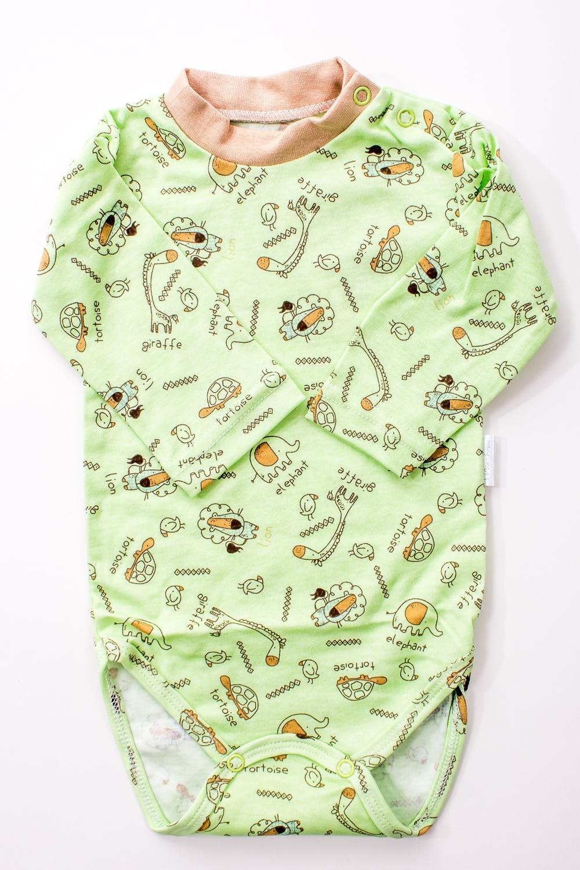 БодиКофточки<br>Хлопковое боди для новорожденного  В изделии использованы цвета: зеленый и др.  Размер соответствует росту ребенка.<br><br>По сезону: Всесезон<br>Размер : 62,68,86<br>Материал: Хлопок<br>Количество в наличии: 12