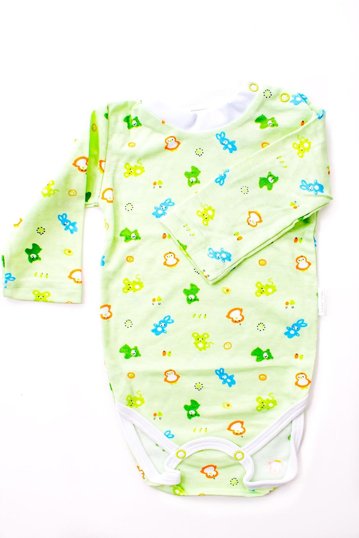 БодиКофточки<br>Хлопковое боди для новорожденного  В изделии использованы цвета: зеленый и др.  Размер соответствует росту ребенка.<br><br>По сезону: Всесезон<br>Размер : 62,68,74,86<br>Материал: Хлопок<br>Количество в наличии: 16