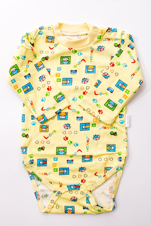 БодиКофточки<br>Хлопковое боди для новорожденного  В изделии использованы цвета: желтый и др.  Размер соответствует росту ребенка.<br><br>По сезону: Всесезон<br>Размер : 62,68,74,86<br>Материал: Хлопок<br>Количество в наличии: 12