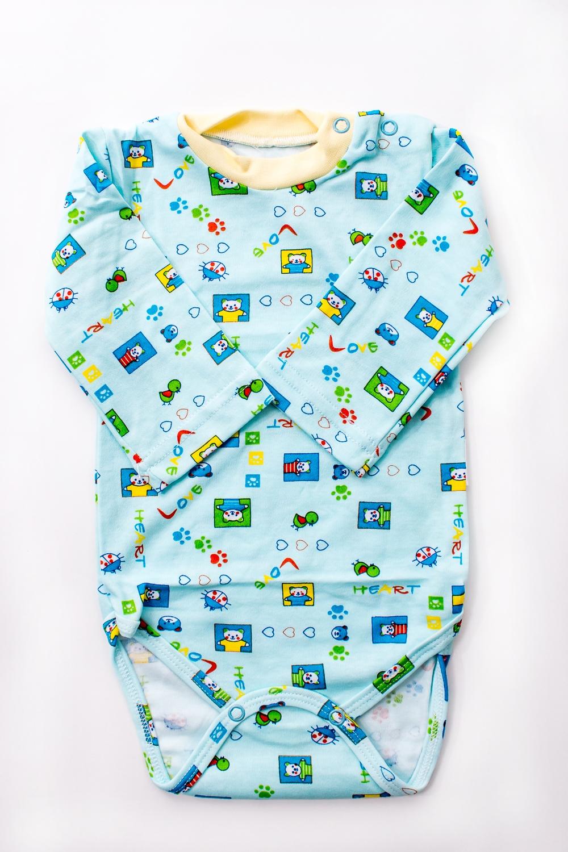 БодиКофточки<br>Хлопковое боди для новорожденного  В изделии использованы цвета: голубой и др.  Размер соответствует росту ребенка.<br><br>По сезону: Всесезон<br>Размер : 62,68,74,86<br>Материал: Хлопок<br>Количество в наличии: 11