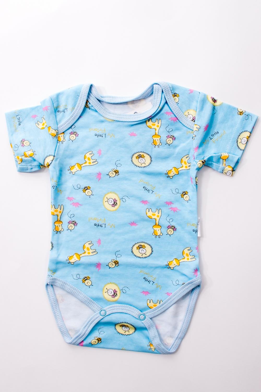 БодиКофточки<br>Хлопковое боди для новорожденного  В изделии использованы цвета: голубой и др.  Размер соответствует росту ребенка.<br><br>По сезону: Всесезон<br>Размер : 56,62,68<br>Материал: Хлопок<br>Количество в наличии: 6