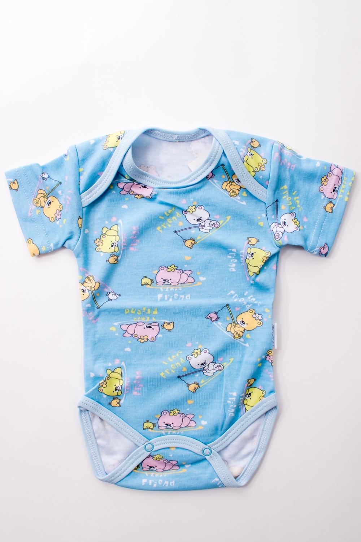 БодиКофточки<br>Хлопковое боди для новорожденного  В изделии использованы цвета: голубой и др.  Размер соответствует росту ребенка.<br><br>По сезону: Всесезон<br>Размер : 56,62,68<br>Материал: Хлопок<br>Количество в наличии: 8