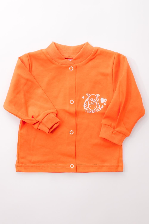 КофточкаКофточки<br>Хлопковая кофточка для ребенка  Цвет: оранжевый  Размер соответствует росту ребенка<br><br>По сезону: Всесезон<br>Размер : 68,74<br>Материал: Трикотаж<br>Количество в наличии: 5