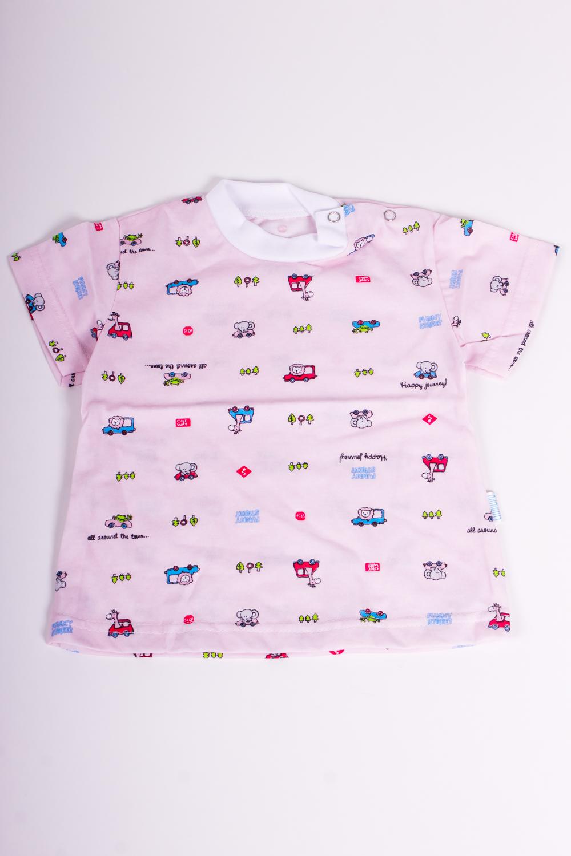 ФутболкаКофточки<br>Хлопковая футболка для девочки  Размер 74 соответствует росту 69-73 см<br><br>По сезону: Лето<br>Размер : 74<br>Материал: Хлопок<br>Количество в наличии: 1