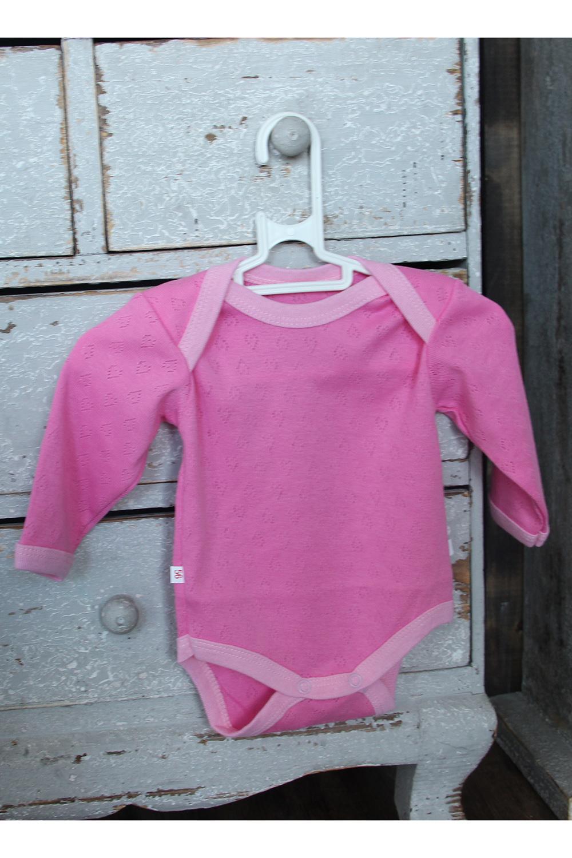 БодиКофточки<br>Трикотажное боди с длинными рукавами для новорожденного.  В изделии использованы цвета: розовый.  Размер соответствует росту ребенка.<br><br>По сезону: Всесезон<br>Размер : 56,62,68<br>Материал: Трикотаж<br>Количество в наличии: 3