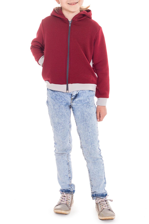 КофтаКофты<br>Куртка с капюшоном и двумя карманами по бокам.  Куртка из американской ткани Polar-stretch-Wind Pro защитит вашего ребенка от холода и непогоды. Материал, благодаря специальным волокнам и плотной конструкции внешней поверхности с вплавленным полимером, в 4 раза лучше защищает от ветра, чем традиционный флис,футер , джинс. При этом, за счет отсутствия мембраны, материал обладает высокой паропропускаемостью. Мягкий внутренний слой отводит наружу избыточную влагу тела. Обладает дополнительно водоотталкивающими свойствами.  Polar Stretch-SH WP (WindPro)  Материал имеет две различные поверхности: - верхняя - гладкая нейлоновая,износоустойчивая. - внутренняя - мягкая из полиэстера. Технические характеристики: - высокая воздухопроницаемость - высокая износоустойчивость - максимальное тепло при небольшом весе - защита о ветра - водоотталкивающая поверхность  Цвет: бордовый, серый  Размер 74 соответствует росту 70-73 см Размер 80 соответствует росту 74-80 см Размер 86 соответствует росту 81-86 см Размер 92 соответствует росту 87-92 см Размер 98 соответствует росту 93-98 см Размер 104 соответствует росту 98-104 см Размер 110 соответствует росту 105-110 см Размер 116 соответствует росту 111-116 см Размер 122 соответствует росту 117-122 см Размер 128 соответствует росту 123-128 см Размер 134 соответствует росту 129-134 см Размер 140 соответствует росту 135-140 см Размер 146 соответствует росту 141-146 см<br><br>Горловина: Капюшон<br>По длине: Удлиненные<br>По материалу: Трикотажные,Хлопковые<br>По образу: Повседневные<br>По рисунку: Однотонные<br>По силуэту: Полуприталенные<br>По стилю: Спортивные<br>По элементам: С карманами,С молнией<br>Рукав: Длинный рукав,С манжетами<br>По сезону: Осень,Весна<br>По возрасту: Ясельные ( от 1 до 3 лет),Дошкольные ( от 3 до 7 лет),Школьные ( от 7 до 13 лет)<br>Размер : 104,110,122,128,134<br>Материал: Трикотаж<br>Количество в наличии: 5